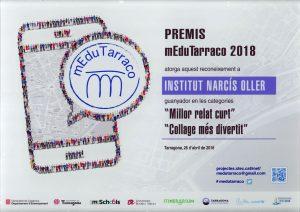 Premi mEduTarraco 2017-18